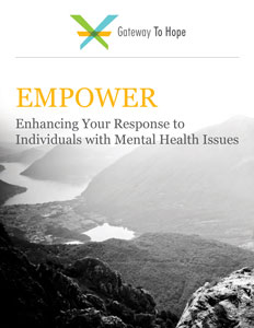 Empower Workbook Cover - Enhancing Your Response to Individuals with Mental Health Issues