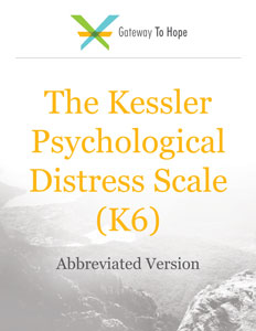 The Kessler Psychological Distress Scale (K6) abbreviated resource for unspecified distress